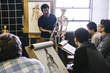 Students at Gnomon in Hollywood, California