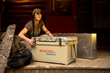 ENGEL Coolers Hosts Celebrities Nick Hoffman & Melissa Bachman at Shot Show Booth