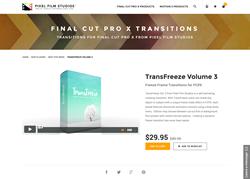 FCPX - TransFreeze Volume 3 - Pixel Film Studios Plugin