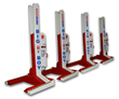 Set of four ST 1130 mobile column lifts has a capacity of 116,000 lbs.