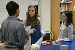 LCA students engage in medical ethics discussion