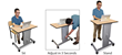 Marvel Group Introduces New Sit/Stand Desk for High School and College Students