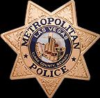 Las Vegas Metro Police Badge