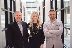 To have a smooth transition when Pineapple House founder Stephen Pararo retires, co-workers Amber Gizzi and Zach Azpeitia have become shareholders in the awardwinning firm.