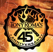 "Tony Roma's Celebrates 45 Years of Happy ""Rib Faces"""