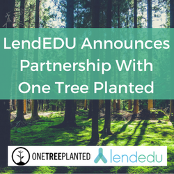LendEDU Announces Partnership With One Tree Planted