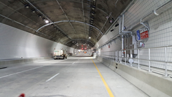 Ohio River Bridge East End Crossing Tunnel with new emergency Public Address (PA) system