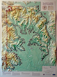 Yamhill-Carlton AVA custom raised-relief map from Summitmaps.com