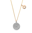 Zazen Bear Zen Garden diamond pendant