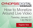 Cynopsis Webinar on January 31 – How to Monetize Around Live Video