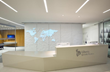 The Living Atlas: A sculptural, interactive mural in Corian® by The Agency of Design for Liberty Specialty Markets (LSM)