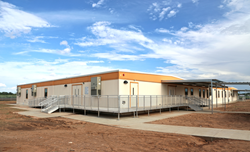 University Texas Permian Basin STEM Academy modular building