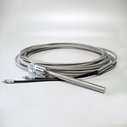 FireflySci fiber optic probe-- fluorescence front surface