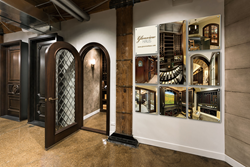 Glenview Haus Chicago Showroom - Custom Wine Cellar Doors and Wine Cellars