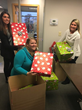 Gensuite's Cincinnati office collected presents for one family and two senior citizens for the Salvation Army Adopt-a-Family program.