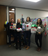 Team members from Gensuite's Austin team also participated in their local Salvation Army Adopt-a-Family program, donating presents to a single mother with five children.