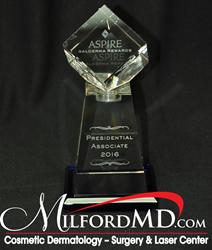 MilfordMD Receives 2016 Galderma Presidential Associate Award