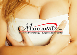 Dr. Buckley performs breast augmentation using patient's fat, not implants.