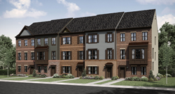 New Townhomes in Clarksburg MD at Clarksburg Square