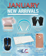 HLC Wholesale Announces the Arrival of New Digital Products For 2017 January Month