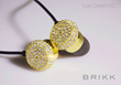 Brikk headphones with 3 carats of diamonds and exceptional sound