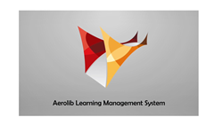 Aerolib Learning Management System: On-demand optimized e-learning for healthcare