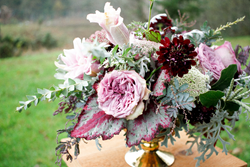 Roses, lilies and other American-grown flowers, arranged by Tobey Nelson