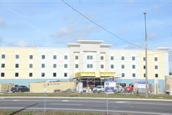Florida hotel, hampton inn, hilton, construction