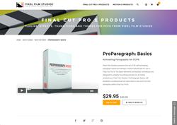 FCPX - ProParagraph Basics - Pixel Film Studios Plugin
