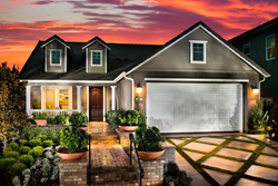 McCaffrey Homes Model Home Santerra at Riverstone community Madera County CA