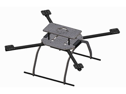 DragonPlate Carbon Fiber UAV Quadcopter Deluxe Frame Kit