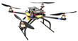 DragonPlate UAV Quadcopter with Electronics