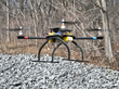 DragonPlate Quadcopter in Flight