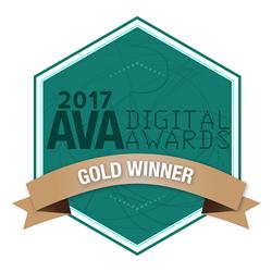 AVA Digital Awards Gold Winner