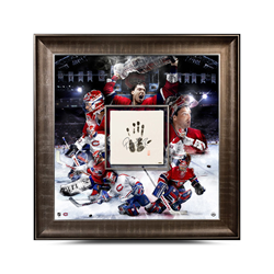Patrick Roy Upper Deck Authenticated Tegata piece is now available as part of his exclusive signature deal with Upper Deck!