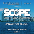 Slone Partners Sponsors the SCOPE Summit for Clinical Ops Executives 2017