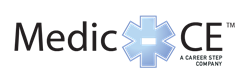 Medic-CE, a Career Step company, offers continuing education for EMS and firefighting professionals.