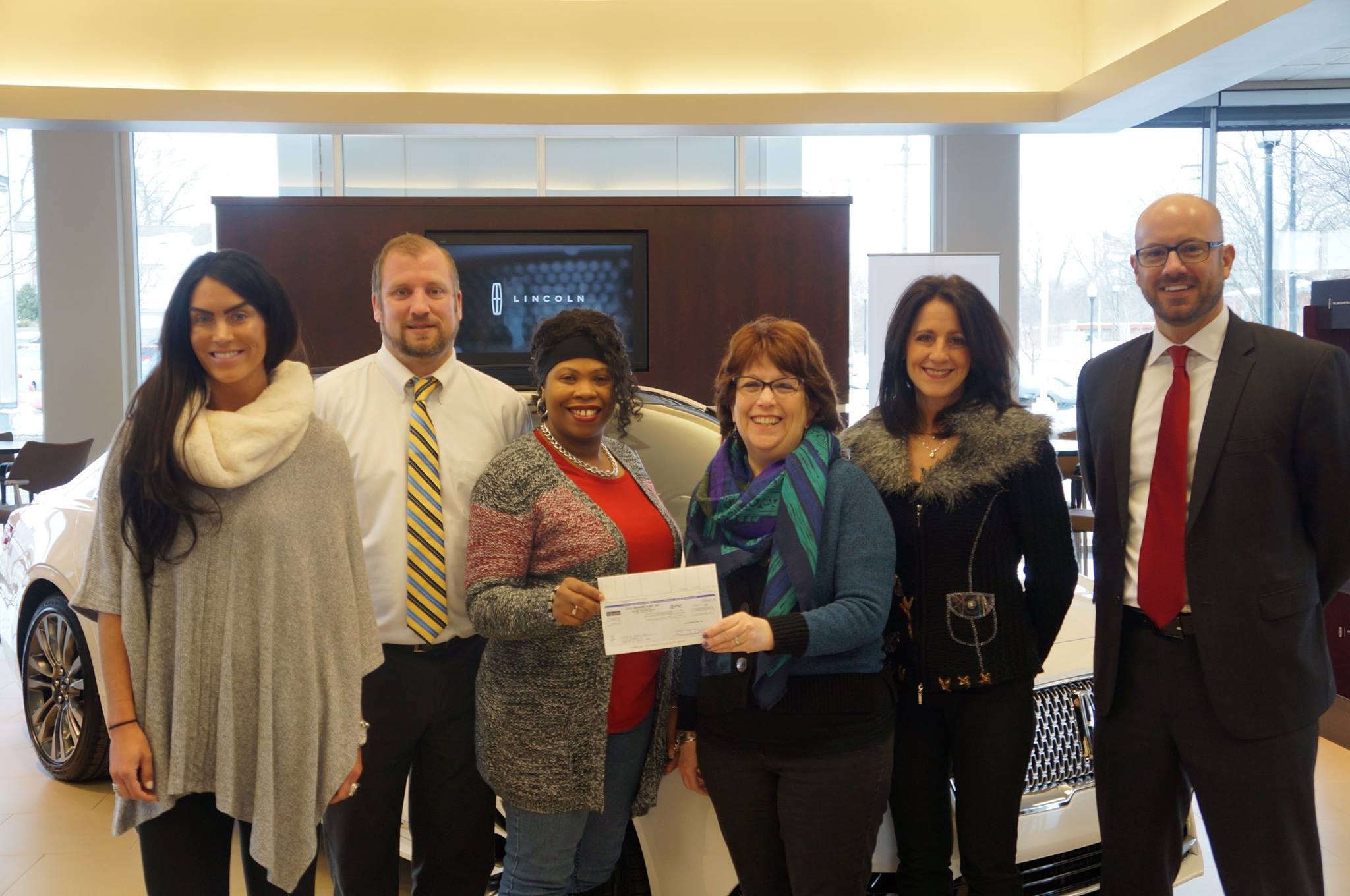 Jack Demmer Lincoln Philanthropy Benefits Area Charities