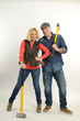 Kortney and Dave Wilson of HGTV's Masters of Flip helped launch Tando at the Builders Show.