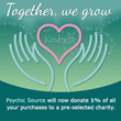 Psychic Source Launches New Program to Donate on Behalf of Every Purchase