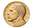 Barack Obama Bronze Medal (Second Term), Obverse