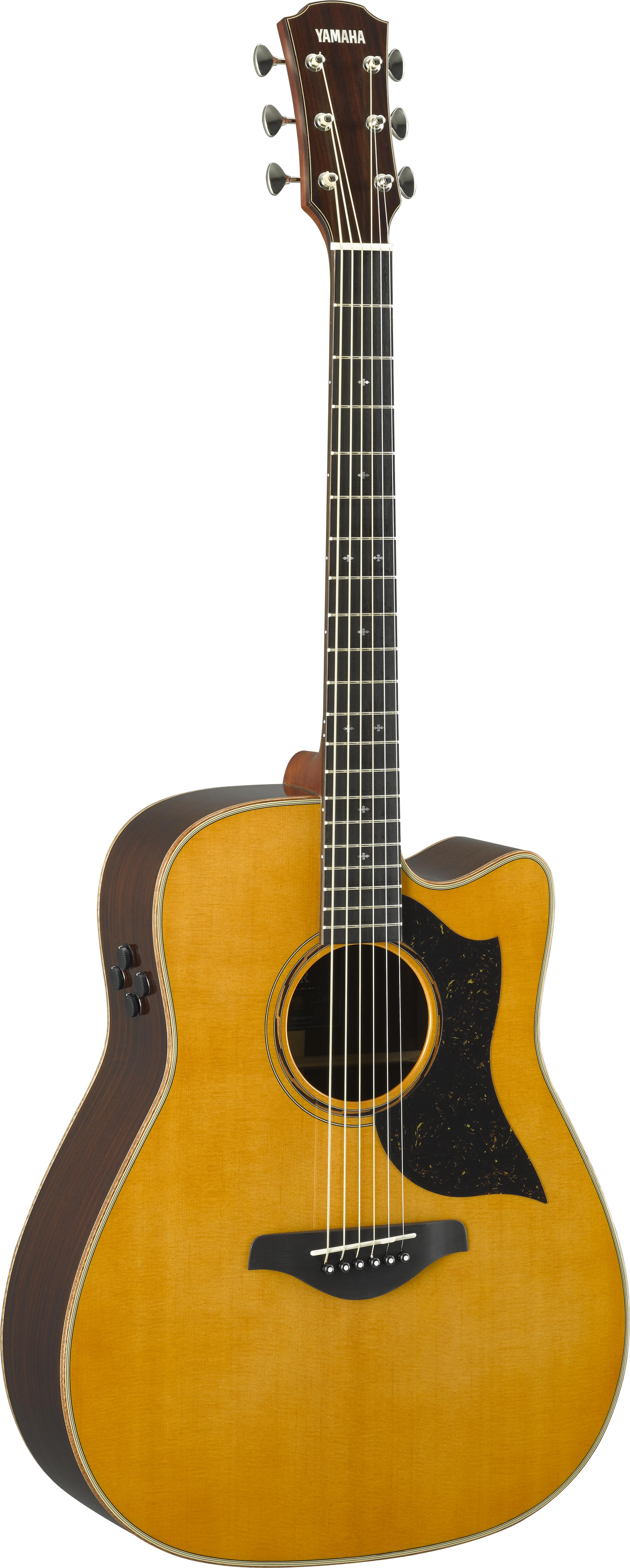 Yamaha a series acoustic guitars with srt pickups and a r for Yamaha series a