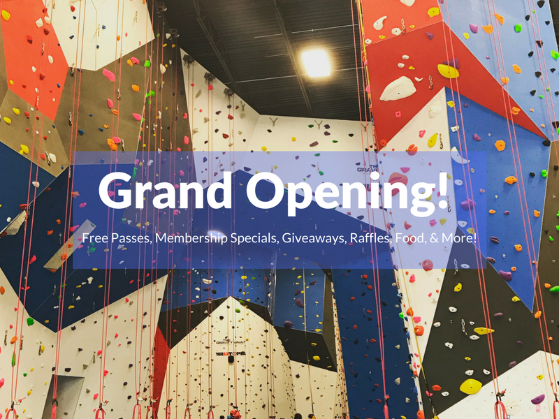 New Indoor Rock Climbing Gym Opens on Long Island