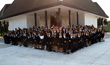 Saint Andrew's Episcopal School middle school students and faculty.