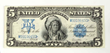 1899 Indian $5 Silver Certificate, Estimated at $1,500-2,500.