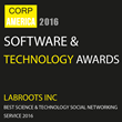 "LabRoots Named ""Best Science & Technology Social Networking Service"" by Corporate American News 2016 Software & Technology Awards"