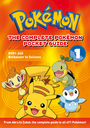 This comprehensive two-volume guidebook with vital stats on favorite Pokémon is back in print!