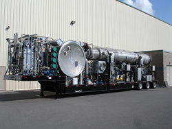The CALORIS AGILIX(TM) Mobile Wastewater Evaporator.