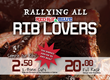 Rib Lovers in Virginia, Maryland, New Jersey, North Carolina Texas, and Missouri Rejoice at Red Hot & Blue Restaurants $20 Rib Special