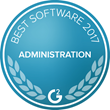 APS named Best Software for Administration Teams | 2017 for its Time Tracking solution by G2 Crowd.